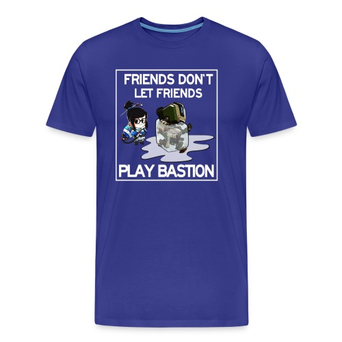 Friends Don't Let Friends Play Bastion (Men's) - Men's Premium T-Shirt
