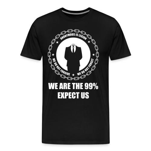 Anonymous 6 White - Men's Premium T-Shirt