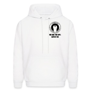 Anonymous 6 Black - Men's Hoodie