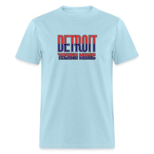 Detroit Techno Music - Men's T-Shirt
