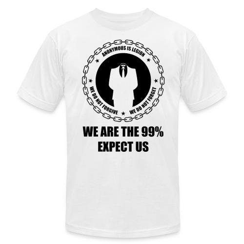 Anonymous 6 Black - Men's Fine Jersey T-Shirt
