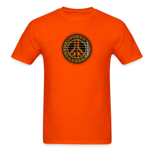 Peace Love Music - Men's T-Shirt