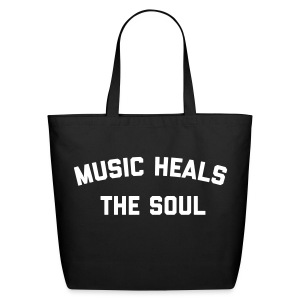 Music Heals The Soul™ - Tote - Eco-Friendly Cotton Tote