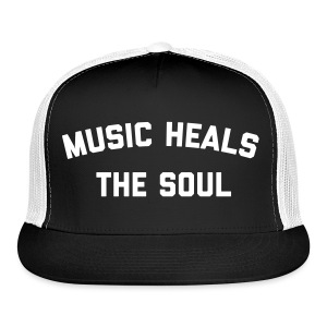 Music Heals The Soul™ - Trucker Hat - Trucker Cap