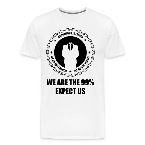 Anonymous 6 Black - Men's Premium T-Shirt