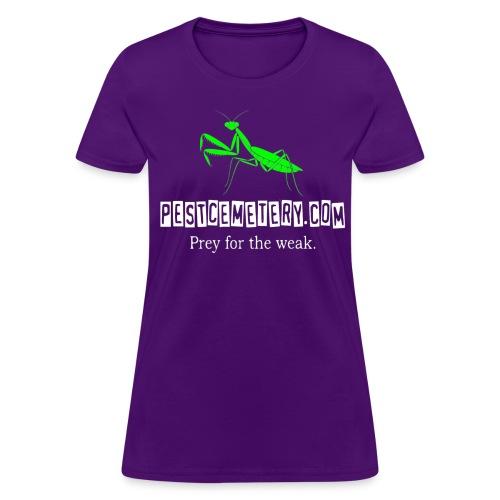 Prey for the weak - WOMEN'S PURPLE - Women's T-Shirt