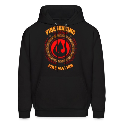 Fire Nation Hooded Sweater  - Men's Hoodie