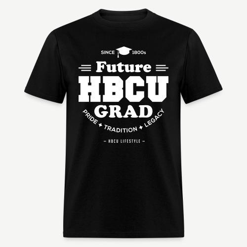 Future HBCU Grad - Men's Ivory and Black T-shirt - Men's T-Shirt