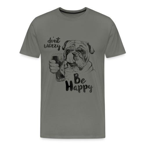 Don't worry be happy - Men's Premium T-Shirt