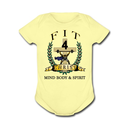 Baby Short Sleeve One Piece - Organic Short Sleeve Baby Bodysuit