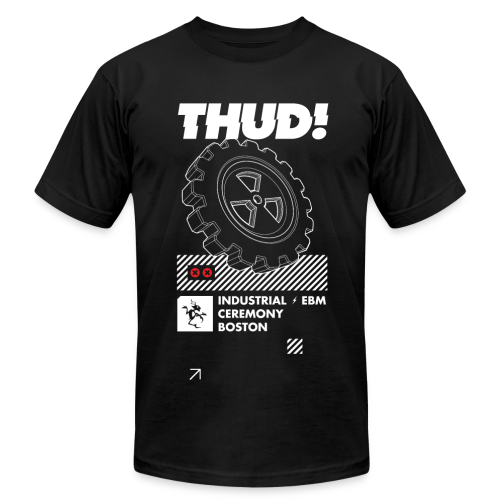 THUD! 20 - design by Dustrial - Men's  Jersey T-Shirt