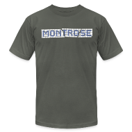 T-Shirts ~ Men's T-Shirt by American Apparel ~ Montrose Tile