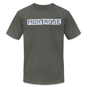 Montrose Tile - Men's T-Shirt by American Apparel