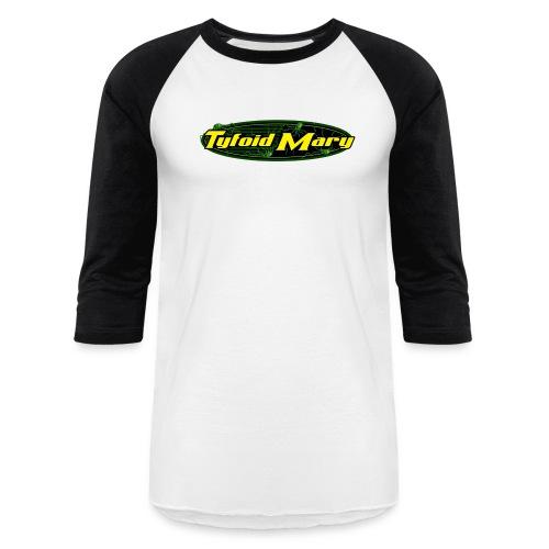 Tyfoid Mary Logo - Mens - Baseball T-Shirt