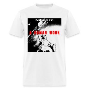 A Human Work album art T-Shirt - Men's T-Shirt