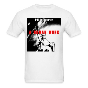 A Human Work album art T-Shirt - Men's T-Shirt