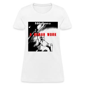 A Human Work album art T-Shirt - Women's T-Shirt
