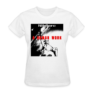 A Human Work album art T-Shirt - Women's T-Shirt