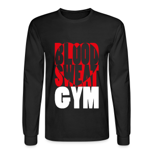Blood Sweat Gym LOVE easy - men´s - Men's Long Sleeve T-Shirt