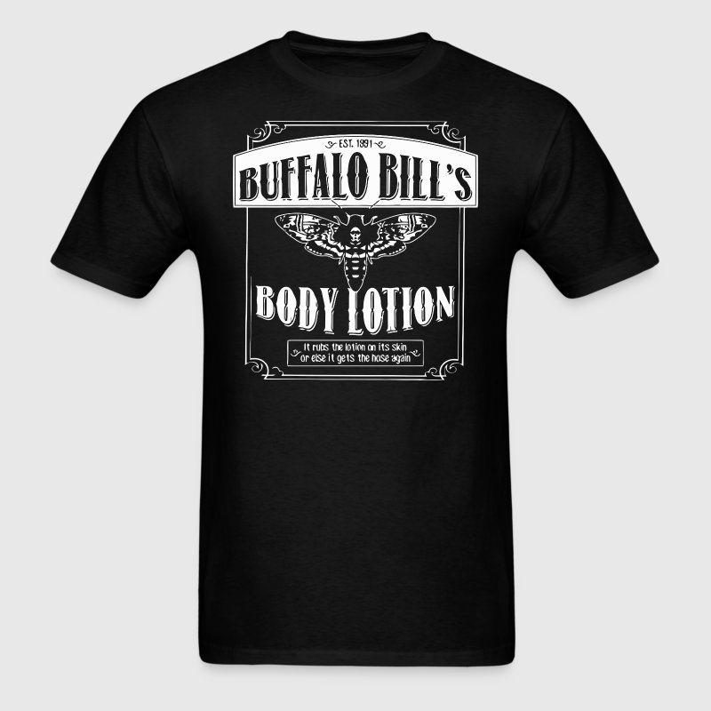 Buffalo bill 39 s body lotion t shirt spreadshirt for Buffalo bills polo shirts