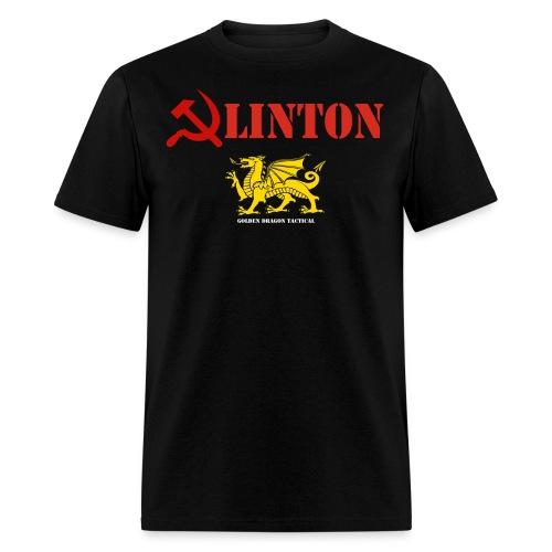 Clinton Golden Dragon T-Shirt - Men's T-Shirt