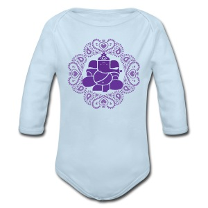 Baby Ganesh Bodysuit  - Long Sleeve Baby Bodysuit