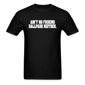 Pulp Fiction - Ain't No F**king Ballpark - Men's T-Shirt