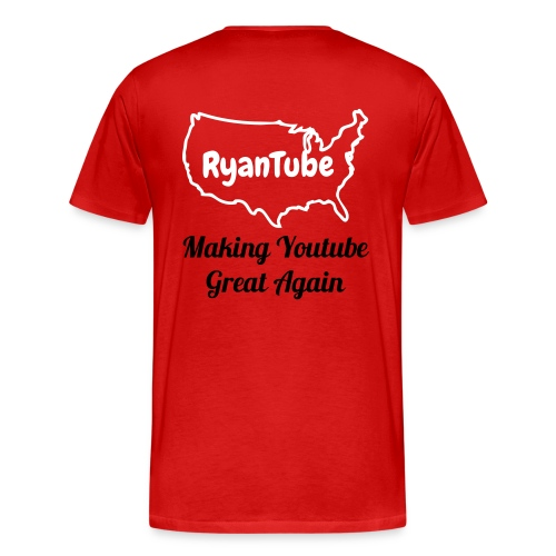 RyanTube for President Shirt - Men's Premium T-Shirt