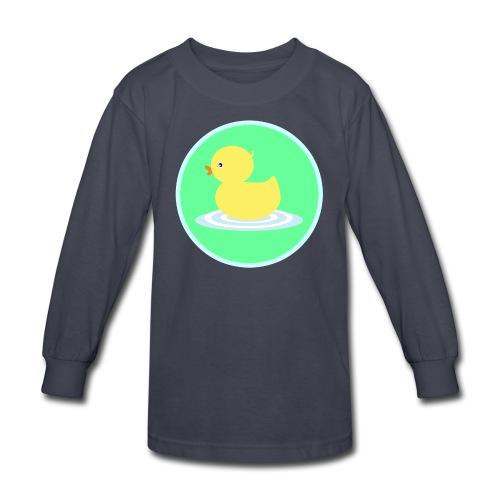 Kids Mister Sqoofey Long Sleeved Shirt - Kids' Long Sleeve T-Shirt