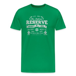 The Federal Reserve Official T-Shirt - Men's Premium T-Shirt