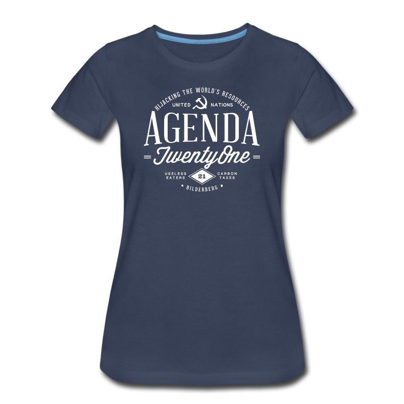 Agenda 21 Womens T-Shirt - Women's Premium T-Shirt