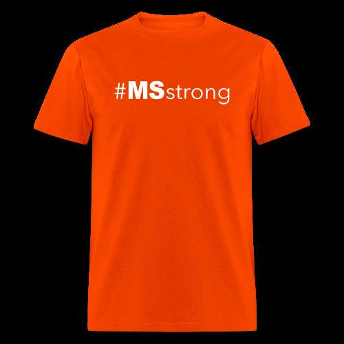 #MSstrong - Men's T-Shirt - Men's T-Shirt