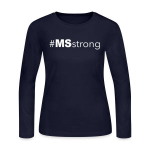 #MSstrong - Women's Long Sleeve - Women's Long Sleeve Jersey T-Shirt