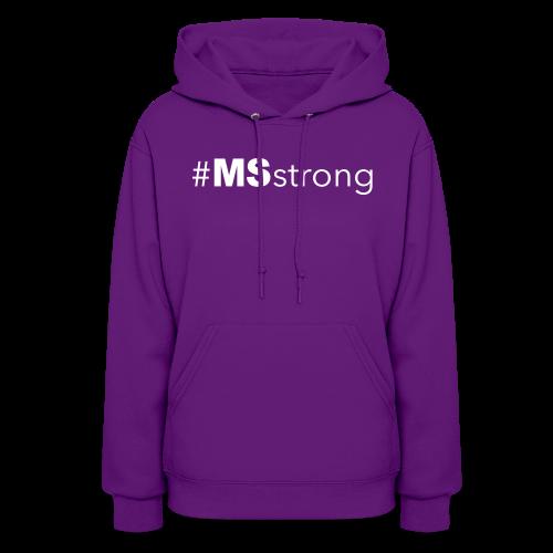 #MSstrong - Women's Hoodie - Women's Hoodie