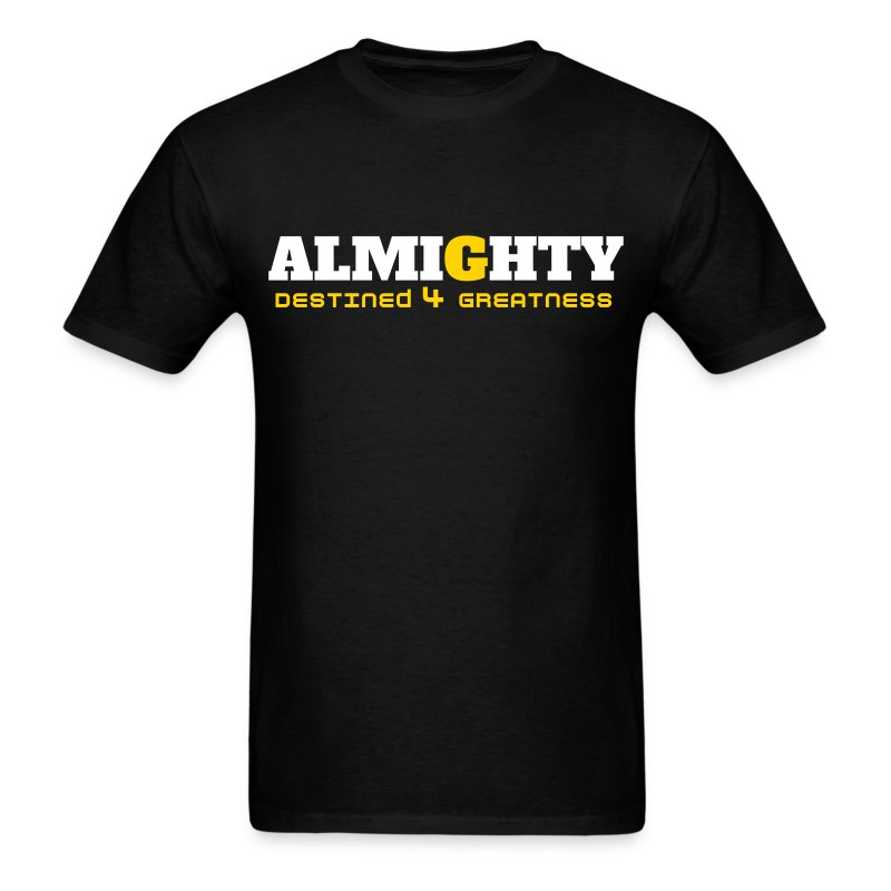 almighty t-shirt - Men's T-Shirt