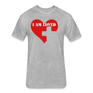 MEANT TO BE LOVED - Fitted Cotton/Poly T-Shirt by Next Level