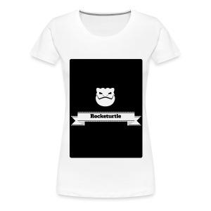 rocketurtle shirt - Women's Premium T-Shirt