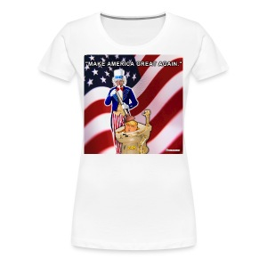 TRUMP IN TOILET - Women's Premium T-Shirt