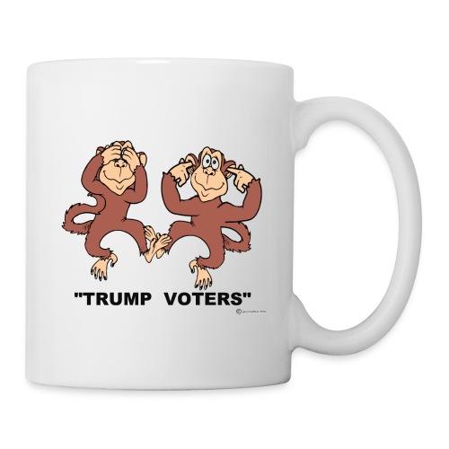 2 MONKEYS FOR TRUMP - Coffee/Tea Mug