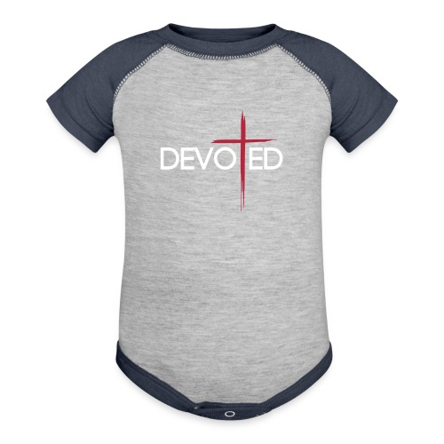DEVOTED   - Baby Contrast One Piece