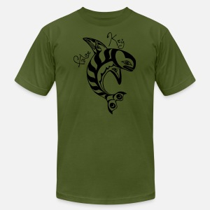 Magic Tattoo t-shirt for dudes - Men's T-Shirt by American Apparel