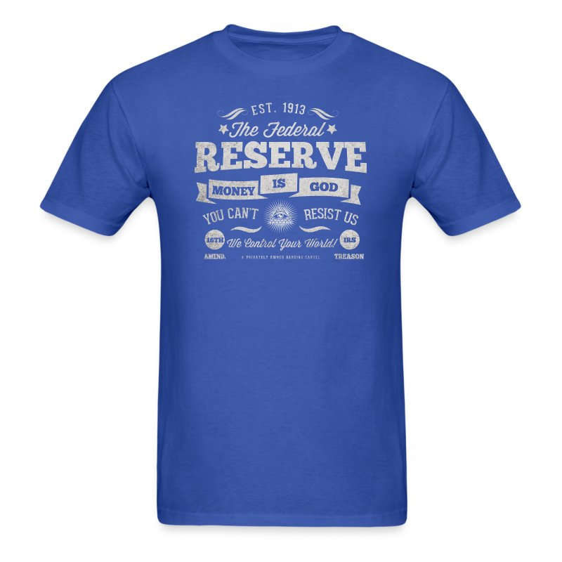 The Federal Reserve Official Mens T-Shirt - Men's T-Shirt