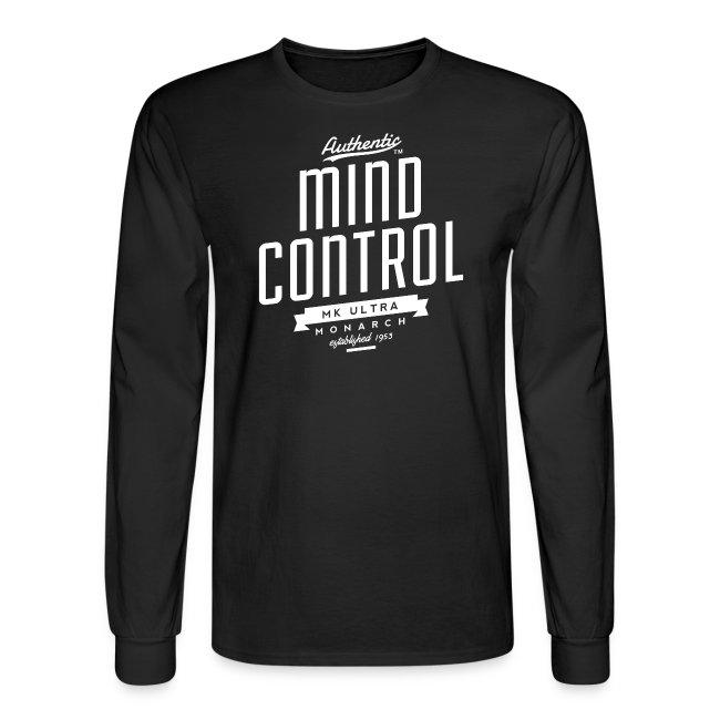 Mind Control MK Ultra Mens Long Sleeve T-Shirt