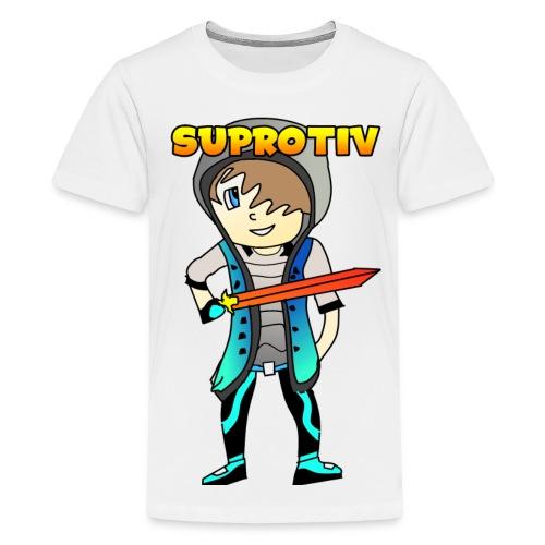 WHITE T-SHIRT FOR KIDS - Kids' Premium T-Shirt