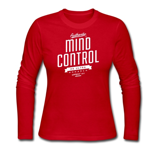 MK Ultra Mind Control Womens Long Sleeve T-Shirt - Women's Long Sleeve Jersey T-Shirt