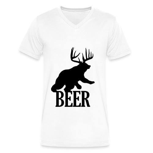 BEER! - Men's V-Neck T-Shirt by Canvas