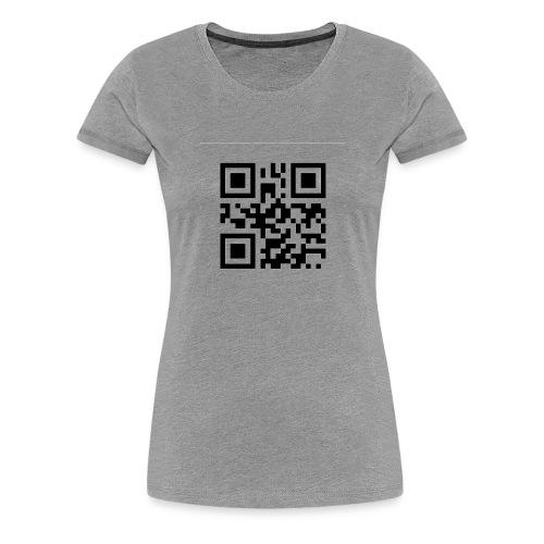 Mysterious QR Code - Women's Premium T-Shirt