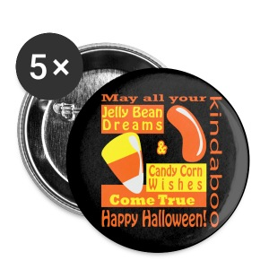 Candy Corn Wishes - large button - Large Buttons