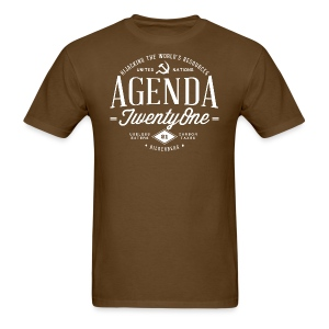 Agenda 21 Mens T-Shirt - Men's T-Shirt