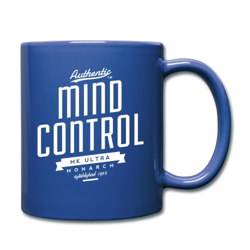 MK Ultra Mind Control Coffee Mug - Full Color Mug